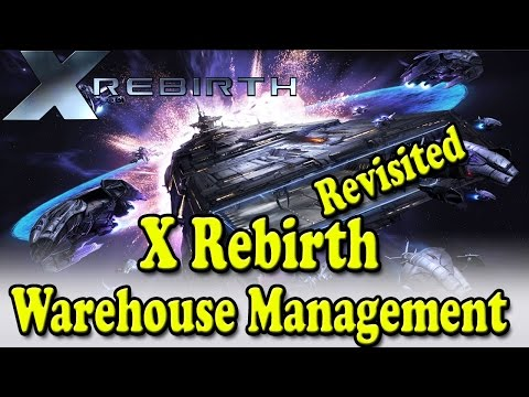 X Rebirth Home Of Light - Warehouse management |