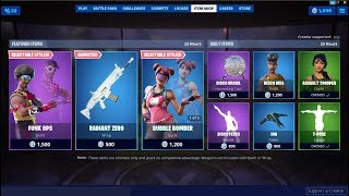 Funk Ops Skin Back With New Style ! Fortnite Item Shop August 12, 2019