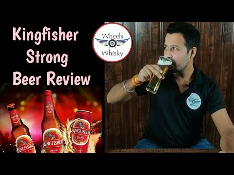 Kingfisher Strong Beer Review & Unboxing | Taste/ Price/ Nose In Hindi |