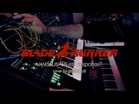 """Blade Runner Soundtrack """"Blush response"""" cover by gattobus"""