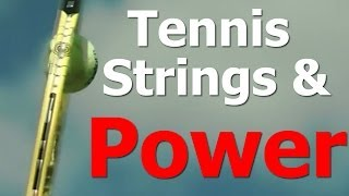 How Tennis String Pattern Affects POWER & SPIN (Top Speed Tennis)