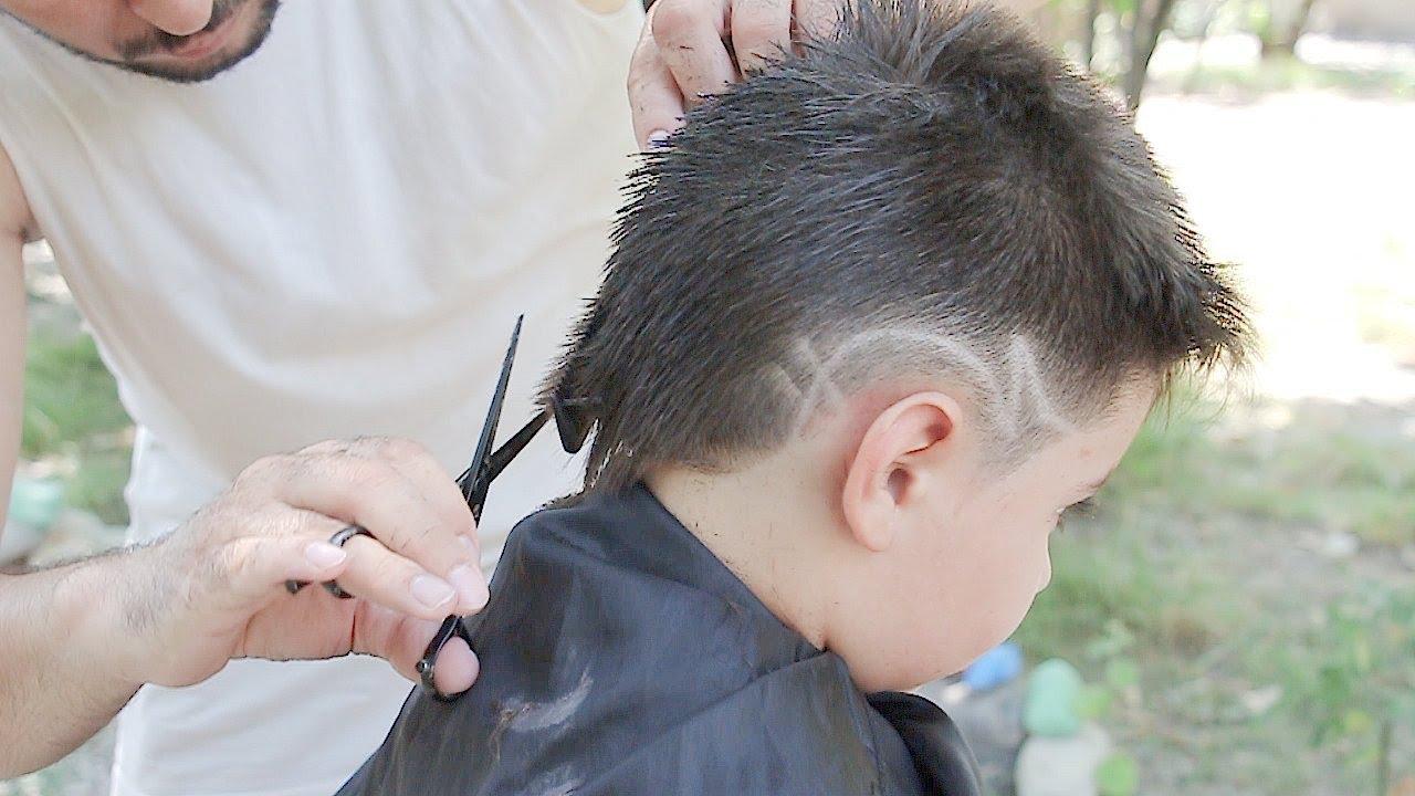Learn boy haircut! transformation (HD Video) men hairstyles and hair cutting