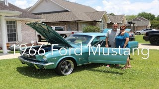 Surprising our dad with his dream car - 1966 Ford Mustang
