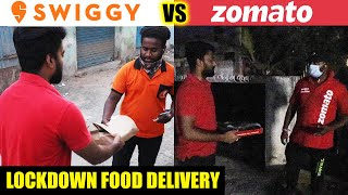 Safe ah? QUARANTINE FOOD DELIVERY - Food Review | ZOMATO | SWIGGY