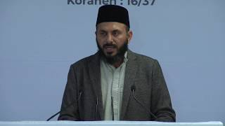 Speech by Imam Rizwan Ahmad Afzal - 27th Jalsa Salana Sweden 2019