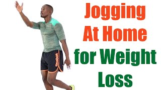 Jogging at Home for Weight Loss/ 20 Minute Indoor Running Workout