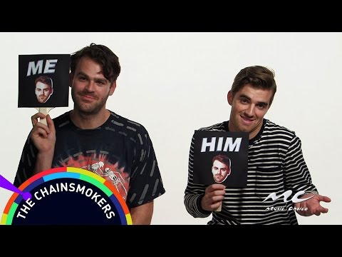Music Choice Games: The Chainsmokers - Who's More Likely To