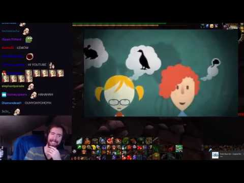 Asmongold reacts to himself on World Autism Awareness Day (w/ twitch chat)