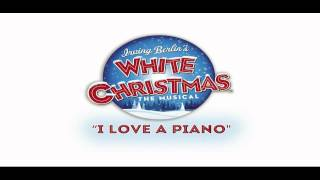 I love a piano White Christmas karaoke instrumental