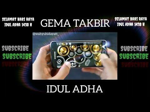 Gema Takbir Idul Adha | Tabiran dengan Real Drum