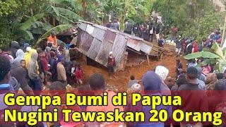 Gempa Bumi di Papua Nugini Tewaskan 20 Orang