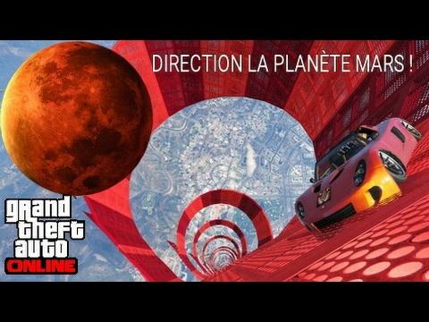 Download NOUS PARTONS SUR MARS EN VOITURE FUSÉE ! GTA 5 ONLINE !