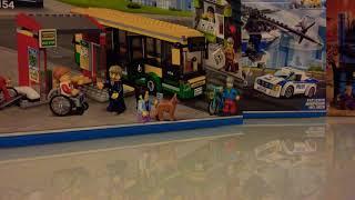 Lego City   Трейлер, Анимация Автобусной Остановки   Лего 60154