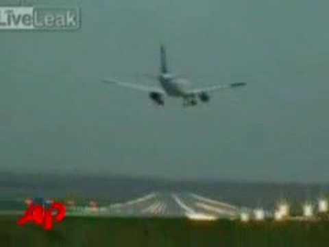 Raw Video: Jet's Near Crash in Germany