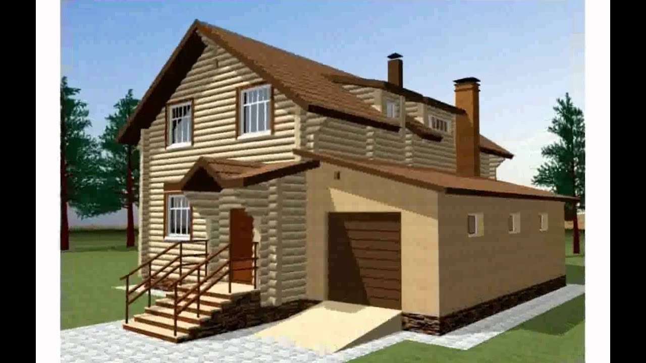 Строим дом из бруса. Дом из бруса 6 х 8 под ключ в Новосибирске .