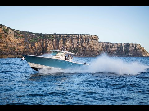 GradyWhite 376 Canyon with triple 300HP Yamaha outboards