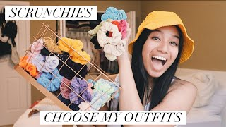 Colored Scrunchies Pick My Outfits for a Week! | Kaiauna Tiumalu
