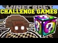 Gambar cover Minecraft: GIANT TICK CHALLENGE GAMES - Lucky Block Mod - Modded Mini-Game
