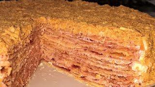 торт Степка-Растрепка. Домашний торт с коржами