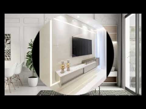 Living Room Tv Cupboard Design Ideas Modern White Tv Stand Youtube