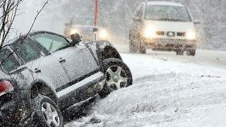 Аварии на зимней дороге 2015 ДТП подборка / Car Crash