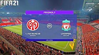 FIFA 21   Mainz 05 vs Liverpool - Club Friendly -  Match & Gameplay