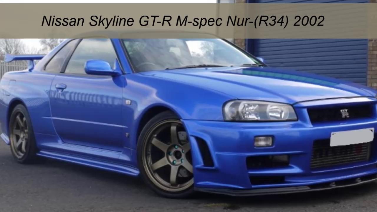 Nissan skyline gt r m spec nur r34 2002 youtube nissan skyline gt r m spec nur r34 2002 vanachro Choice Image