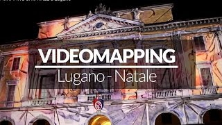 VIDEO MAPPING di NATALE a Lugano