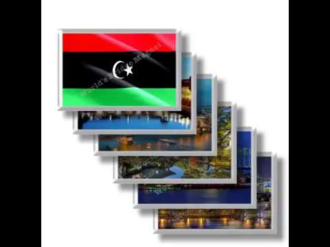 LY - Travels in LIBYA - rectangular magnets and souvenirs