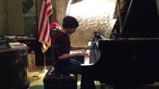 Adam Bernstein playing Gershwin's Prelude