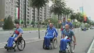 Handicapped Athletes Descend on Beijing