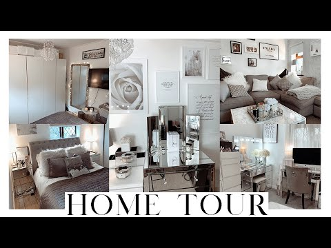 HOME TOUR & DECOR ON A BUDGET | Grey and white interior 2019