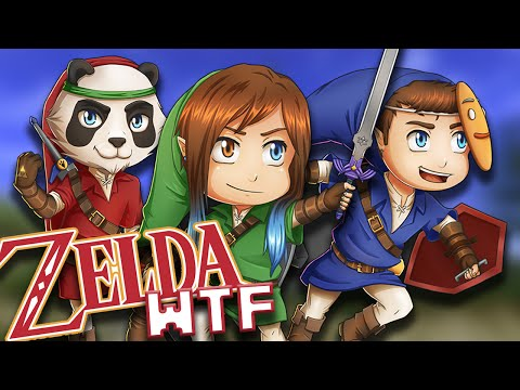 Minecraft - Zelda WTF #9 Le Temple du Fun