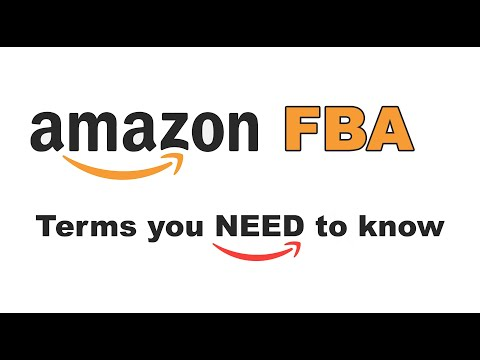 Amazon selling TERMS TO KNOW | Amazon FBA for Beginners!