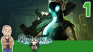 Shadowrun Returns Gameplay Part 1 - Down & Out - Let's Play Series