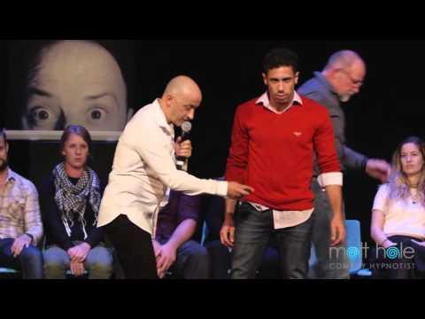 Matt Hale Comedy Hypnotist Stage Show