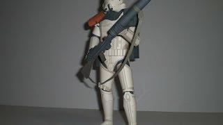 Star Wars Sandtrooper 1:6 - Kartonmodell - papercraft model