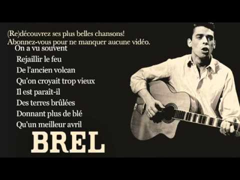Jacques Brel   Ne Me Quitte Pas   Paroles Lyrics   YouTube