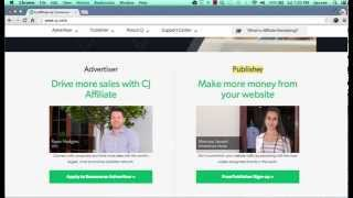 How To Use & Make Money With Commission Junction Affiliate Network