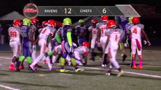 MIAMI GARDENS CHIEFS 13U vs. MIAMI GARDENS RAVENS 13U Battle for the #1 spot in the FYFL