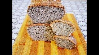 Рецепт ВКУСНОГО хлеба Рецепт РЖАНО ПШЕНИЧНОГО хлеба ПРОСТОЙ РЕЦЕПТ ХЛЕБА выпечка