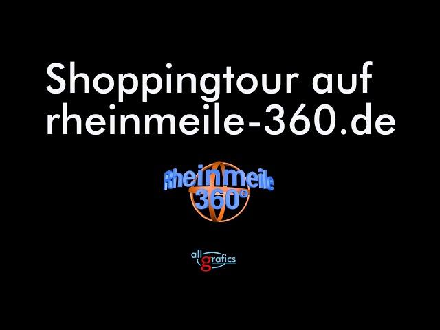 Virtueller 360° Rundgang durch die Rheinmeile