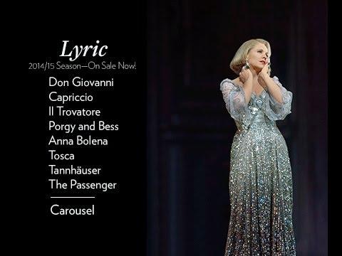 Announcing Lyric Opera of Chicago's 2014-15 season!