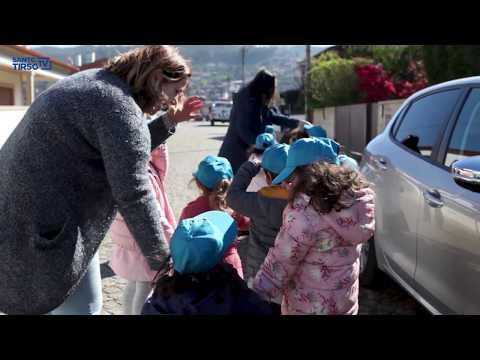 Crianças da Reguenga plantam árvores