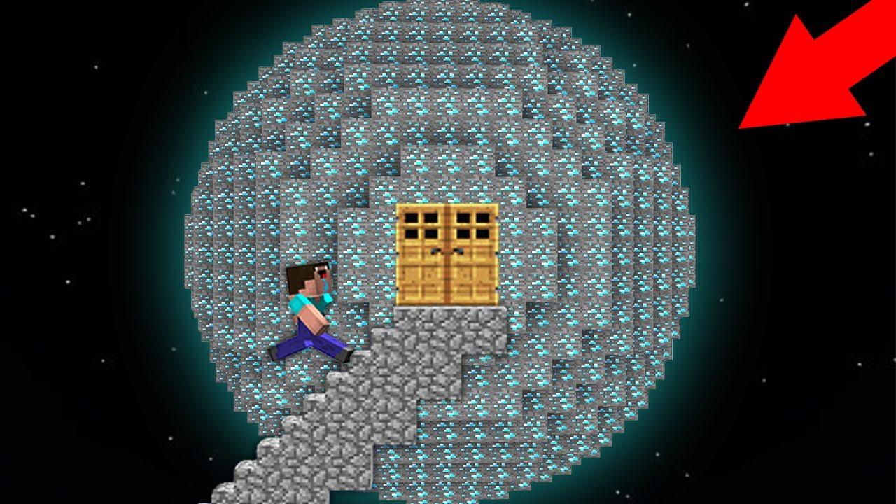 HOW NOOB FOUND DIAMOND PLANET? HOW TO GET INSIDE PLANET OF DIAMONDS? Minecraft - NOOB vs PRO