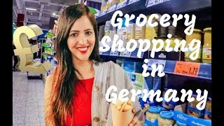 Grocery shopping in Germany | Indian Food