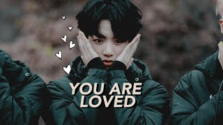 ► jungkook | you are loved.