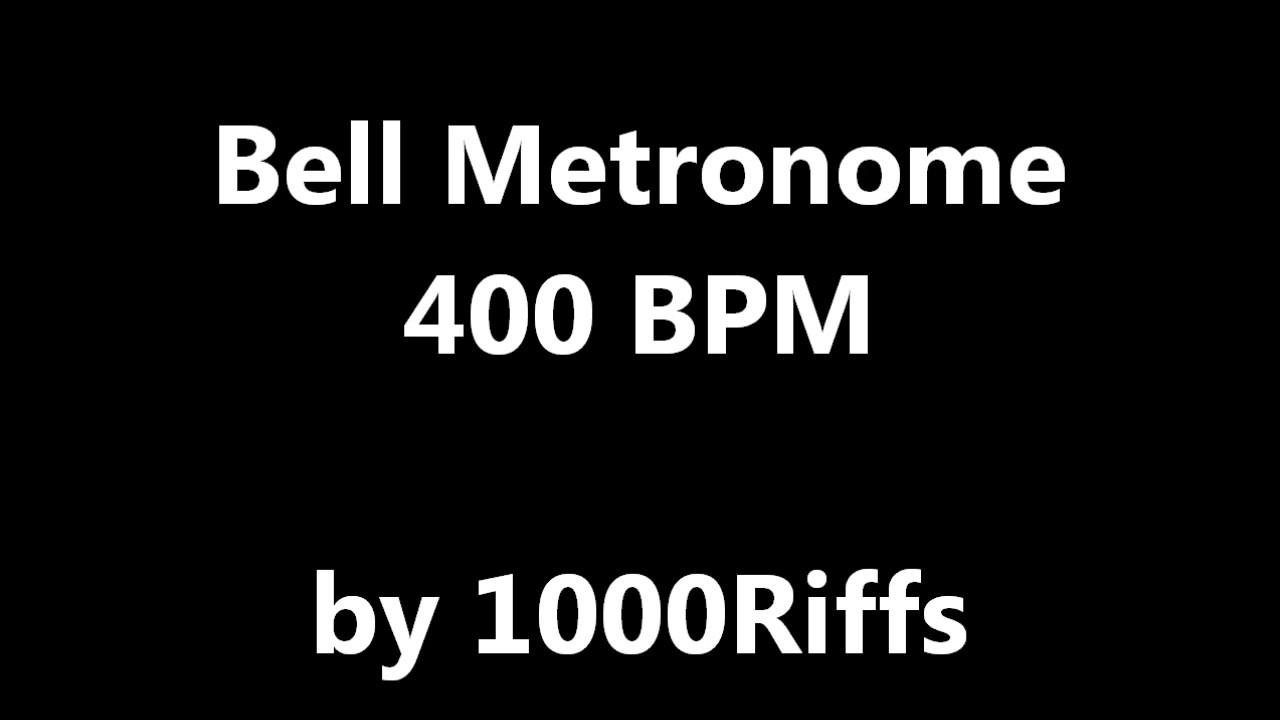 Bell Metronome : 400 BPM - Beats Per Minute