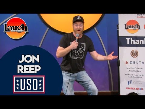 Jon Reep | The Man From Hickory | USO | Laugh Factory Stand Up Comedy