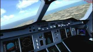 Flight Simulator X - Airbus A380 British Airways - LEPA(Palma de Mallorca) a LEMD(Barajas)